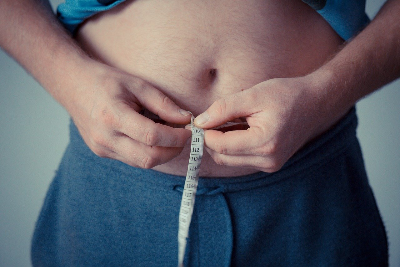 Bauch Maße nehmen abnehmen