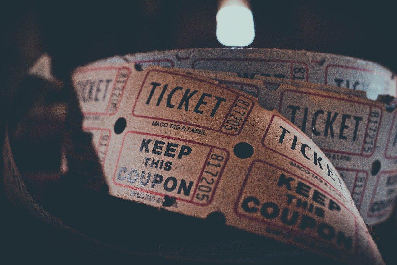 Kino Ticket Retro werden Kinos aussterben?