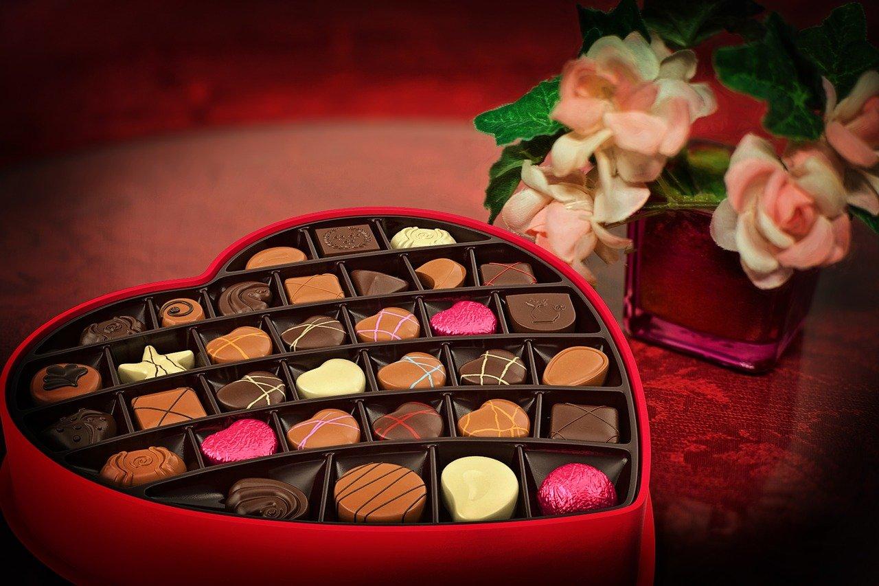 Valentinstag Pralinen was ist edle Schokolade feine Pralinen